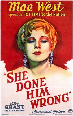 She Done Him Wrong (1933) - Mae West, Cary Grant, Owen Moore, Gilbert Roland