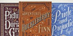 Read Huck Finn a few months back, need to read Pride & Prejudice, and want to re-read Dorian Gray, last read it when I was in middle school. And, I totally want to own these editions from B&N.