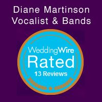 Wedding Wire Reviews for Diane Martinson Music, Inc. Twin Cities MN. Live Music| #Singer| #Wedding Bands|Ceremony Musicians|Party Music| Reception Jazz Swing  Entertainment.