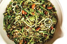 Brown Rice Salad with Crunchy Sprouts and Seeds