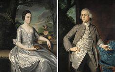 ab. 1767 James Claypoole, Jr. - Joseph Pemberton &...   History of fashion in art & photo