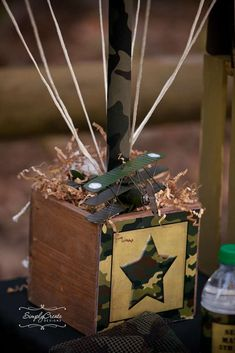 Army/Camouflage Birthday Party Ideas | Photo 1 of 21 | Catch My Party
