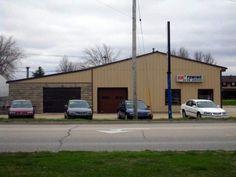 Commercial Auto Repair Building  1601 W 1st St  Independence, IA 50644 (Buchanan)  http://www2.locationone.com/(S(qnouuuudnuqd2u450kuije45))/PropertySearch.aspx?BuildingId=802475