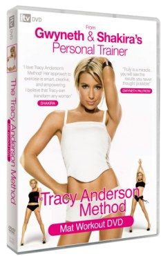 Tracy Anderson's fitness DVD ... read both the article and the comments.