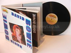 First pressing of this album on DECCA/superstar, no release date, no barcode. Gatefold sleeve with stapled 12 page full colour book and vinyl are in near new/excellent condition. David Bowie, Lps, Psych, Superstar, Coloring Books, Shoe, Rock, Vintage Coloring Books, Zapatos