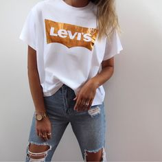 Summer Outfits, Casual Outfits, Fashion Outfits, Couple Outfits, Fashion Room, Tee Design, Tees, Shirts, Vsco