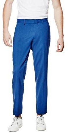 GUESS Men's Hyde Ultra-Slim Suit Pants