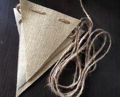 DIY Burlap Banner / Jute Burlap Fabric / Banner by BurlapBistro, $12.00