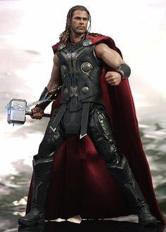 [핫토이] 1/6 어벤져스 AOU 토르 출시 | Daum 루리웹 Mcu Phase 2, Free Hollywood Movies, Cool Toys For Boys, The Mighty Thor, Marvel Movies, Tom Holland, Chris Hemsworth, Marvel Avengers, Biking