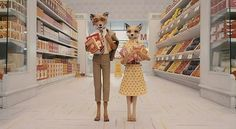 Fantastic Mr. Fox Oh Wes Anderson, I just heart your films.