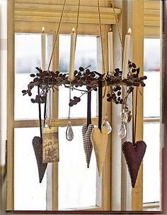 hanging hearts from Charleneg - Healthy Skin hängende Herzen von Charleneg Healthy Skin Care hanging hearts of Charleneg # Hanging - Valentine Decorations, Valentine Crafts, Be My Valentine, Christmas Decorations, Christmas Time, Christmas Crafts, Hygge Christmas, Xmas, Diy And Crafts