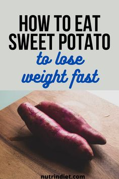 Sweet potato is a source of carbohydrate and a healthy carbohydrate because it has a lower glycemic index. It also has potassium, fiber, protein, vitamin A, some of the B complex, vitamin C, calcium, iron. So it's super interesting for you to put in your diet. Complete Nutrition, Nutrition Plans, Healthy Nutrition, Healthy Eating, Sources Of Carbohydrates, Clean Eating Grocery List, Glycemic Index, Weight Loss Diet Plan, Vitamin C