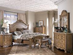 Ashley Furniture Bedroom Furniture | Ashley Furniture South Coast Panel Bedroom Set - Bedroom Sets, Bedroom ...