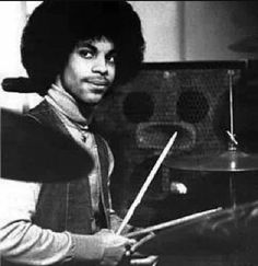 Prince on Drums