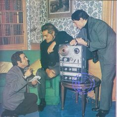 Boogie nights: Baligh Hamdi, Omar Sharif, and Abdel Halim Hafez in London in the 60s
