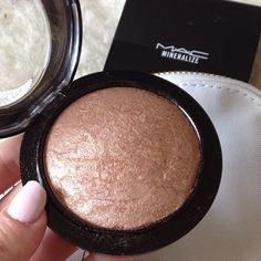 Here is a great mac bronzer to use as a contour or just to keep up your summer glow as the chill arives
