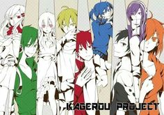 Kagerou project. I miss listening to the bgm in youtube for 1hr plus. Should definitely listen to it again.