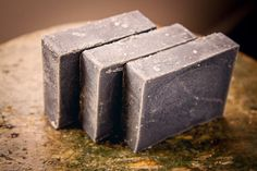 Peppermint Charcoal Face Bar Soap Essential by FriendlyBodyProduct