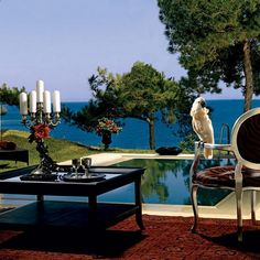 Out of the Blue Capsis Elite resort is one of the best places found on a private peninsula in Crete, it is surrounded by gardens and the sea for maximum relief. Hotels In Crete Greece, Greece Resorts, Hotels And Resorts, Beautiful Hotels, Beautiful Places, Amazing Places, Beautiful Pictures, Crete Island, Luxury Spa