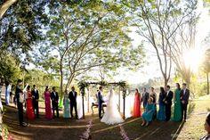 Casamento ao ar livre - Diana e Murilo no Casar.com, onde você encontra Inspirações e Dicas para seu Casamento feito por quem mais entende do assunto