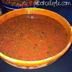 Sabor Celeste | My Mexican Kitchen: Chile de Arbol Salsa