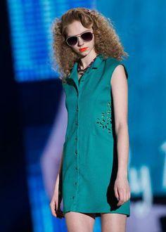 Tokio Fashion Week: Kreationen des japanischen Mode-Labels Lily Brown. (Bild: EPA)