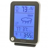 The AcuRite Digital Weather Station uses patented Self-Calibrating Technology to provide your personal forecast of 12 to 24 hour weather conditions.
