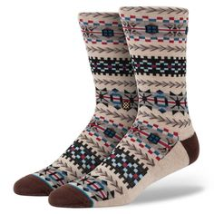 The Instance Hayes sock provides both comfort and trendy & upscale luxury. A perfect stocking-stuffer for the season!