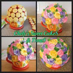 Roses cupcakes bouquet