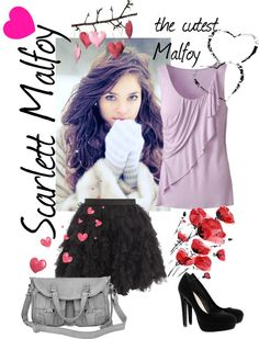 """""""Scarlett Malfoy"""" by theresa-chan ❤ liked on Polyvore"""
