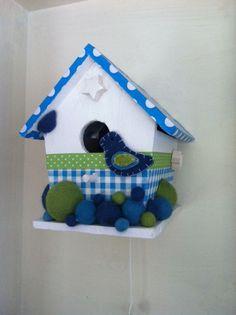 babyroom birdhouse, ( twinkle twinkle little star)