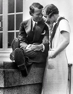 King Frederik IX and Queen Ingrid of Denmark (originally princess Ingrid of Sweden)
