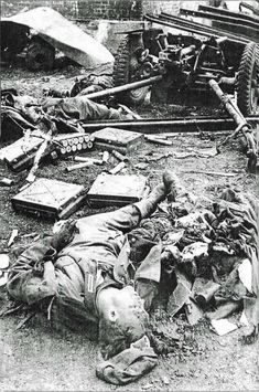 team of 37mm gun killed in a red army attack