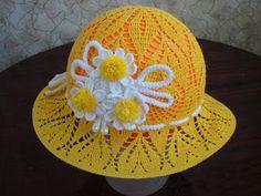 Tina's handicraft : kids dress & hats with flower trimming