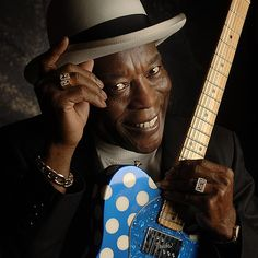 """George """"Buddy"""" Guy (born July 30, 1936)[1] is an American blues guitarist and singer"""