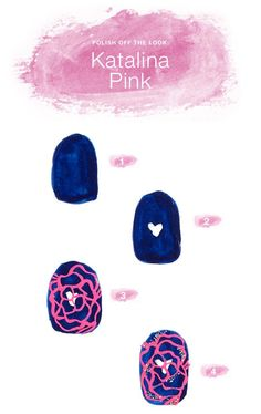A DIY mani with beauty and breast cancer awareness? See it for yourself (and learn how to recreate it) on the blog!
