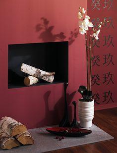 Pokój w stylu azjatyckim  www.magnatfarby.pl
