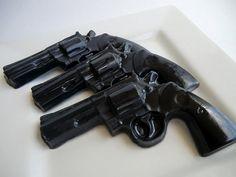Gun Soap -  gift for him, valentines for man