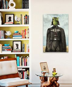 Loving this Son of Darkness Gallery-Wrapped Canvas Print on #zulily! #zulilyfinds