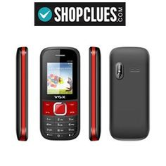 VOX New V3100 Triple Sim Mobile Phone (Red & Black) at Rs.738 with Shipping – Shopclues