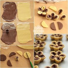 56 Gorgeous from Each Other of Homemade Pastries, Easy Food Decorations - Delicious Food Kids Pastry Recipes, Cookie Recipes, Dessert Recipes, Cupcake Cookies, Cupcakes, Flower Cookies, Homemade Pastries, Breakfast Plate, Food Tags