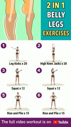 Workout Videos For Women, Gym Workout For Beginners, Ab Workout At Home, At Home Workouts, Fitness Workouts, Fitness Workout For Women, Training Workouts, Flat Belly Workout, Fat Workout
