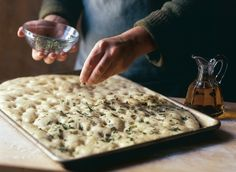 Weekend Project: Focaccia
