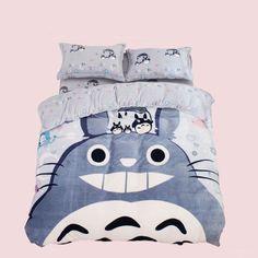 totoro bedding| discount: okaywowcool  kawaii totoro anime ghibli pastel fachin bedding bedroom home decor storenvy discount cutey