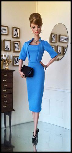 "OOAK Fashions for Silkstone / 12"" Fashion Royalty / Vintage barbie - With Zipper | eBay"