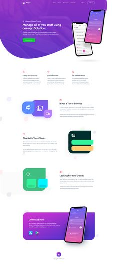 Mappy App Landing Page - Landing Pages - Create a landing pages with drag and drop. Easily make your landing page in 3 minutes. - Mappy App Landing Page Web Responsive, Ui Web, Minimal Web Design, Web Design Tips, Design Design, Website Layout, Web Layout, One Page Website, Design Thinking