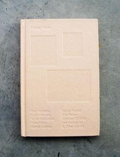 New Artists' Book: Strange plants / edited by Zio Baritaux, Book Design, Cover Design, Design Ideas, Paper Book, Any Book, Book Binding, New Artists, Book Nerd, Magazine Design