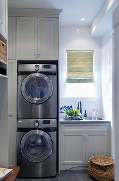 Genius Small Laundry Room Decor Ideas (9)