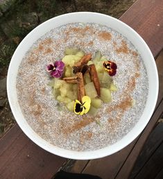 Ingredients Serves 4 ½ Cup Chia Seeds 500ml Almond Milk (Liquid of your choice) 2 Green Apples 2 Cinnamon Sticks 1 Star Anise 2 cloves Water Method Soak Chia seeds in a bowl with 500ml of Almond Milk and stir with a whisk. Let sit for 5 minutes and give it another good whisk. Chia …