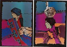 Amado Maurillo Pena Jr. Serigraph - 1990-1993